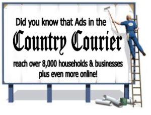 Advertise in the Country Courier and reach customers in King William and King & Queen, Virginia