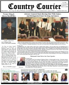 March 28, 2018 online issue of the Country Courier Newspaper