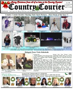December 19, 2018 online issue of the Country Courier Newspaper. Serving the King William & King & Queen communities since 1989.