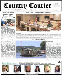 June 12, 2019 online issue of the Country Courier Newspaper. Serving the King William and King & Queen communities since 1989.