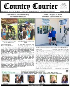 July 24, 2019 online issue of the Country Courier Newspaper. Serving the King William and King & Queen communities since 1989.